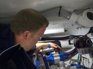 Onboard pump service - Ingham Engineering