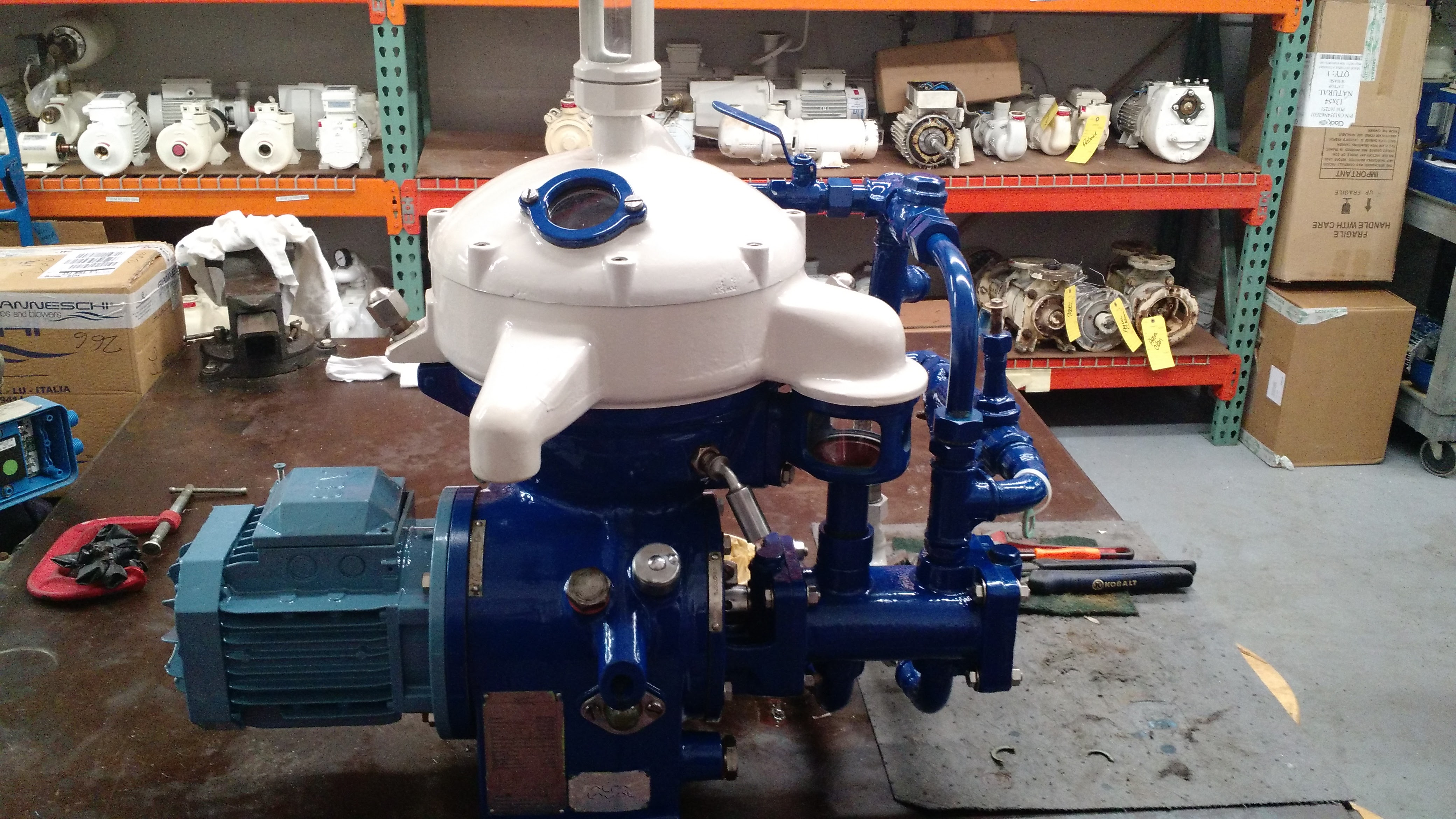 Pumps and Blowers, Fuel Centrifuges - Ingham Engineering