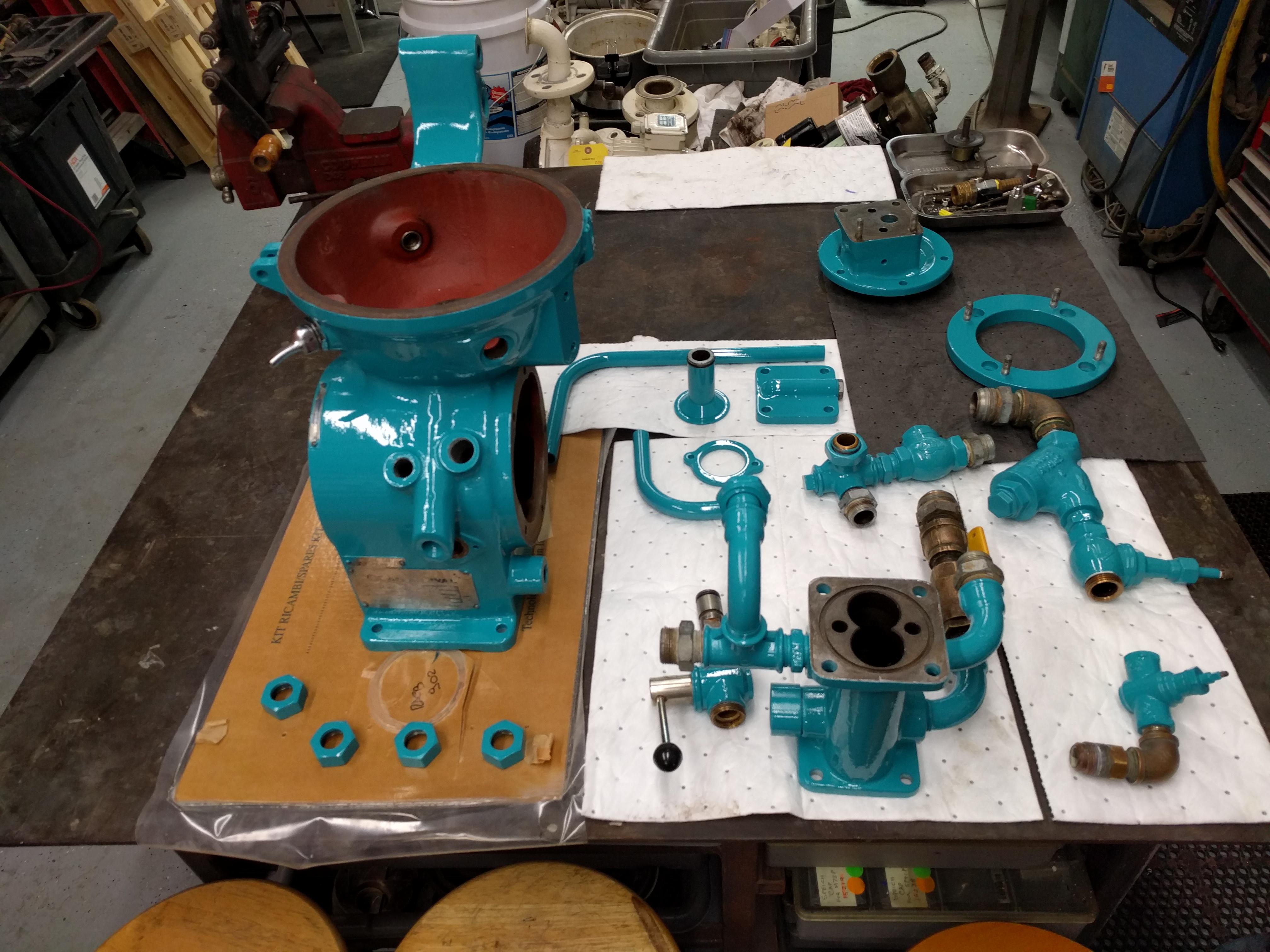 Pump rebuilds - Ingham Engineering