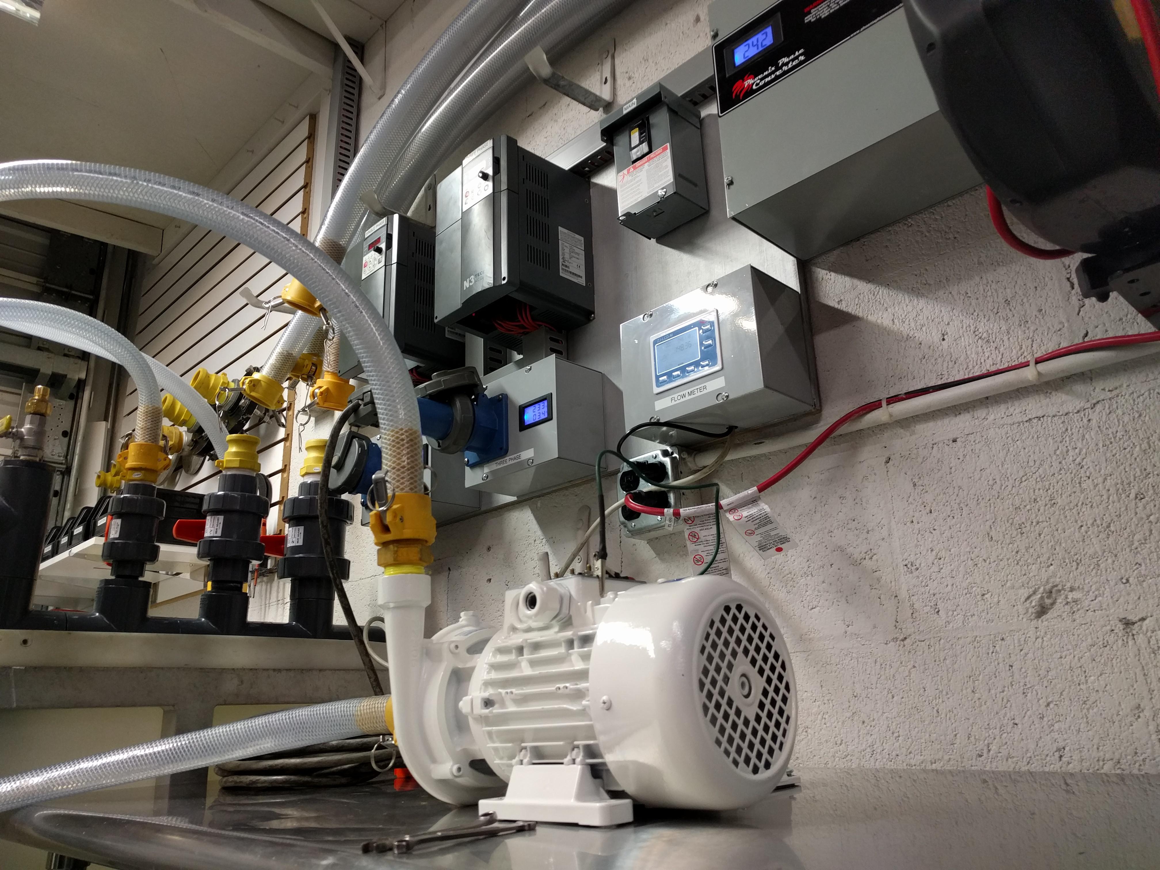 Onboard Gianneschi pump maintenance by Ingham Engineering.